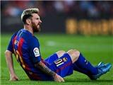 Barca xác nhận Messi sẽ vắng mặt 3 tuần vì chấn thương