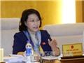 Chủ tịch Quốc hội Nguyễn Thị Kim Ngân lên đường thăm Lào