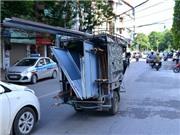 Hoảng hồn xe ba gác 'tử thần' vẫn chạy trên đường