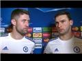 Vị trí của Ivanovic và Gary Cahill ở Chelsea đang bị đe dọa