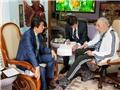 Lãnh tụ Cuba Fidel Castro liên tiếp xuất hiện trên truyền thông