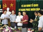 Vụ thảm sát 4 bà cháu: Lãnh đạo Quảng Ninh trực tiếp tới Hải Phòng 'thưởng nóng' Ban chuyên án