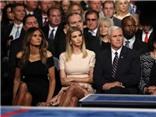Dàn nhân vật quyền lực 'tai to mặt lớn' ngồi xem Clinton - Trump tỷ thí