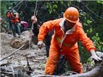 Lở đất trong bão Megi làm 27 người Trung Quốc mất tích