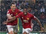 Ibrahimovic – Rashford: 'Cặp bài trùng' mới của Man United