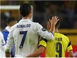 Cầu thủ Dortmund thi nhau cảm ơn Cristiano Ronaldo