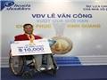 Lực sĩ Lê Văn Công được thêm 10.000 USD tiền thưởng