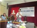 Facebach trao tặng những ấn phẩm mới cho CLB Văn học Đại học Thủ Đô
