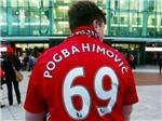 Áo đấu tự chế 'Pogbahimovic' thành cơn sốt ở Man United