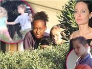 HÌNH ẢNH đầu tiên của 6 đứa con nhà Angelina Jolie, Brad Pitt ở nhà mới