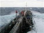VIDEO: Tàu khổng lồ chở 4 trăm tấn hóa chất bị đắm ngoài khơi Nhật Bản