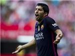 Luis Suarez bị phát hiện lăng mạ trọng tài ở Champions League