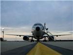 Máy bay trinh sát Mỹ 'bị lộ' khi tiếp cận tàu Nga ở Địa Trung Hải