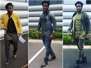 Choáng với thảm hoạ thời trang mang tên Wilfried Bony