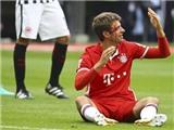 Mueller đổ cả máu, Bayern Munich vẫn chia điểm thất vọng