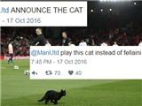 Mèo đen chạy vào sân Liverpool - Man United, CĐV lôi Gerrard ra chế giễu