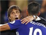 Báo Anh tiết lộ lý do Conte không cho Costa rời sân trận Chelsea 3-0 Leicester