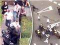 CĐV Legia Warsaw hỗn chiến KINH HOÀNG với cảnh sát Madrid