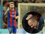 Guardiola nhỏ bé và bất lực trong thế giới của thiên tài Messi
