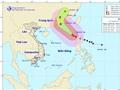 Cập nhật tin thời tiết chiều 20/10: Biển Đông gần tâm bão số 8 gió giật 200km/h