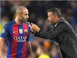 Enrique xoay xở quá tài tình trước Guardiola