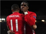 Pogba lần đầu tiên lập cú đúp, Man United đại thắng ở Europa League