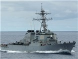 Mỹ điều tàu khu trục tuần tra Biển Đông thách thức Trung Quốc, Bắc Kinh 'nổi đóa'