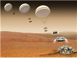 SỐC: Tàu đổ bộ lao xuống và nổ tung trên sao Hỏa