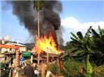 Hà Giang: Hỏa hoạn thiêu rụi 11 ngôi nhà sàn của đồng bào dân tộc thiểu số