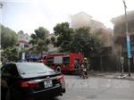 Làm rõ nguyên nhân cháy hàng tranh tại biệt thự văn nghệ sĩ 65A phố Nguyễn Thái Học
