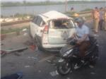 CẬP NHẬT vụ tàu hỏa đâm ô tô: Đã có 6 người tử vong; huy động mọi nguồn lực cứu lái xe
