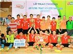 Kết thúc giải futsal Truyền hình Đồng Tháp 2016: Cà phê Phố An Giang xưng Vương miền Tây