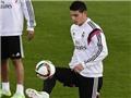 James Rodriguez ghi bàn 'SIÊU ẢO' trên sân tập