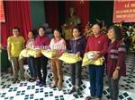 Gia đình Đại tướng Võ Nguyên Giáp cứu trợ người dân vùng lũ quê nhà Quảng Bình