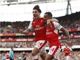 Arsenal chờ 4 trụ cột trở lại ở trận derby với Tottenham