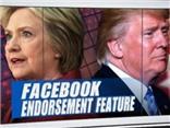 Bầu cử Mỹ: Donald Trump thắng Hillary Clinton trên... Facebook