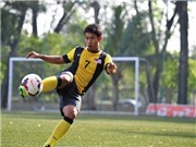 Malaysia hy vọng vào 'hàng thừa' Irfan Fazali tại AFF Cup