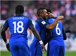 Hugo Lloris 'chôn chân' sau quả đá phạt kỳ dị, Pháp vẫn có 3 điểm trước Thuỵ Điển