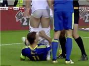 HÀI HƯỚC: Dzeko bị đuổi khỏi sân vì... tụt quần đối phương