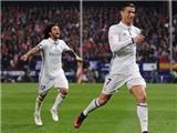 Cộng đồng mạng 'phát sốt' vì kiểu ăn mừng mới của Cristiano Ronaldo