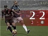 AC Milan 2-2 Inter: Suso lập cú đúp nhưng AC Milan vẫn đánh rơi 2 điểm