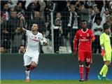 Quaresma kiến tạo bằng tuyệt kỹ Rabona, Besiktas tái hiện kỳ tích Istanbul