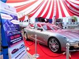Xe thể thao hạng sang Maserati Ghibi tại Lễ hội ẩm thực Ý