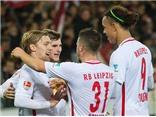 'Hiện tượng' RB Leipzig thắng trận thứ 7 liên tiếp, bỏ xa Bayern 6 điểm