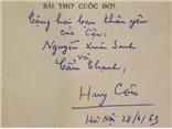 Triển lãm sách quý hiếm từ trước 1945: Có thủ bút và chữ ký của Ngô Tất Tố, Huy Cận, Nhượng Tống...