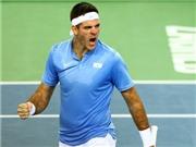 Tennis ngày 26/11: Del Potro cứu nguy cho Argentina. 'Federer, Nadal đã hết thời'