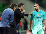 Barca mất 12 điểm sau 13 vòng đấu: Luis Enrique trong cơn túng quẫn