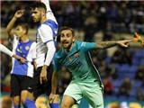 Hercules 1-1 Barcelona: Không MSN, Barca bị đội hạng 3 cầm hòa