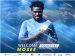 Hà Nội T&T ký hợp đồng với 'quái thú' Moses