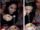 Dàn thiên thần Victoria's Secret 'đại náo' quán ăn sau hàng tháng kiêng khem